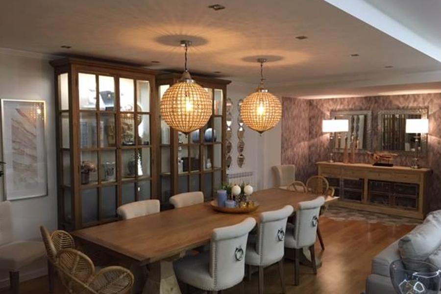 moradia belas, decoração, design sala