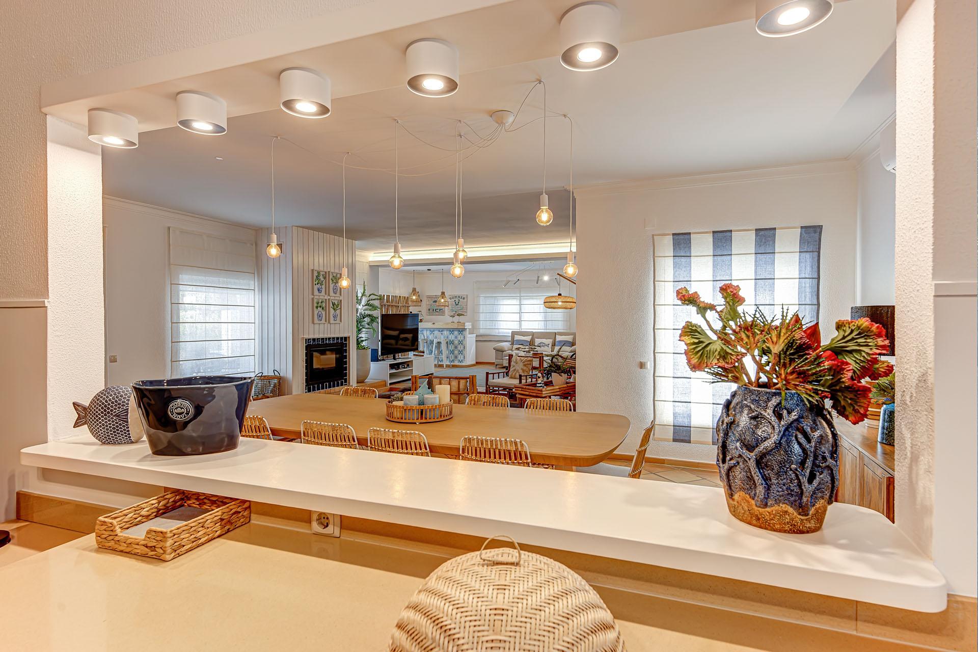 casa em troia, decoração e design
